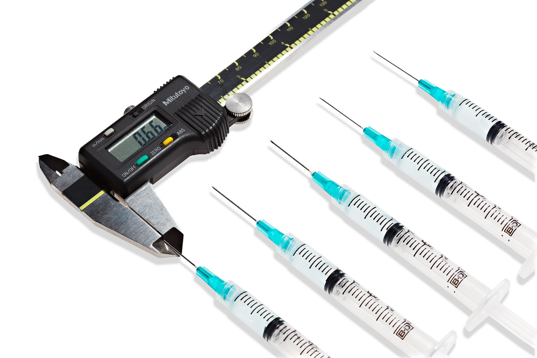 Syringes and Caliper